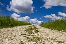Free Countryside Stone Road Stock Image - 20880151