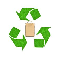 Free Recycle Bag Stock Photography - 20880412