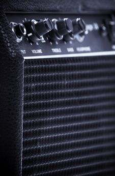 Free Guitar Amp Or Amplifier Stock Photos - 20880873