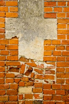 Free Red Bricks Wall Background Stock Image - 20881221