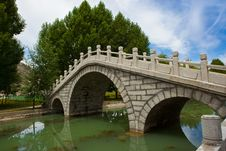 Free Stone Bridge Royalty Free Stock Image - 20881726