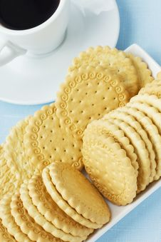 Free Cookies And Coffee Stock Photo - 20882480