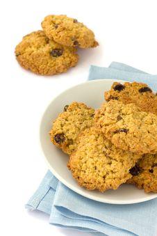 Free Homemade Oatmeal Cookies Royalty Free Stock Photography - 20882507