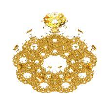 Free Golden Flower Stock Image - 20883331