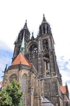 Free Cathedral Of Meissen (Germany) Royalty Free Stock Photography - 20883787