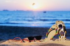 Free Summer Beach Royalty Free Stock Photography - 20884047