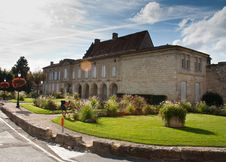 French Country House Stock Photo