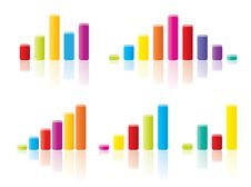 Free Colourful Graph Concepts Royalty Free Stock Photos - 20885758