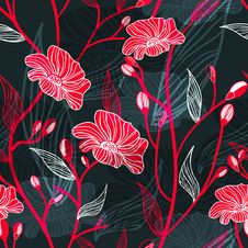 Free Abstract Floral Backgtound Stock Photo - 20885790