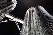 Petronas Towers In Kuala Lumpur Malaysia Stock Photos