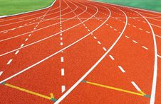 Free Running Track Stock Images - 20886444