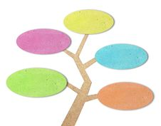 Free Tree Created By Recycled Paper Stock Image - 20886521