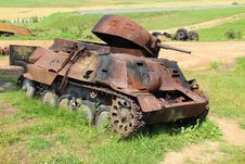 Free Damaged Tank Stock Photo - 20889200