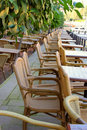 Free Image Of Street Cafe With Wicker Chairs Stock Images - 20890274