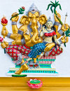 Free Ganesha Is The God Of India Royalty Free Stock Images - 20897619