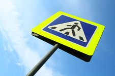 Image Of Pedestrian Crossing Sign Royalty Free Stock Images