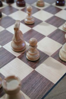 Free Chess Game Royalty Free Stock Photo - 20890295