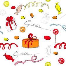 Free Decorative Seamless Pattern Royalty Free Stock Image - 20890926