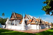 Free Temple Architecture In Thailand. Royalty Free Stock Image - 20893286