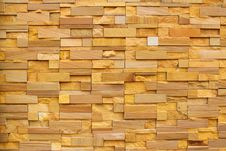 Modern Brick Stone Wall Stock Images