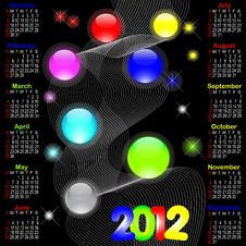 Free Calendar For 2012. Stock Photo - 20893660
