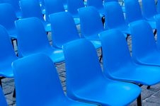 Free Front Of Chairs Royalty Free Stock Photos - 20895288