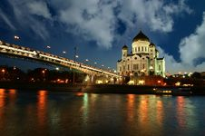Free Christ The Savior Cathedral, Moscow Stock Photography - 20895882