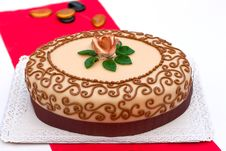 Free Hungarian Chesnut Cake For All Occasions Royalty Free Stock Image - 20896926