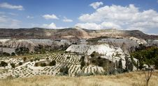 Free Agricultural Patterns Goreme Cappadocia Turkey Royalty Free Stock Photos - 20897268