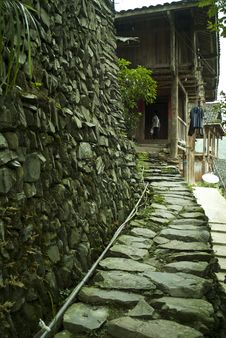 Free Stone Path To House Stock Photography - 20897482