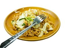 Free Stir-fried Noodles Stock Images - 20897804