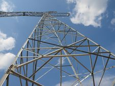 Free Electrical Tower Without Wires Stock Photo - 20897970