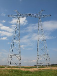 Free Electrical Towers Without Wires Stock Photography - 20897972