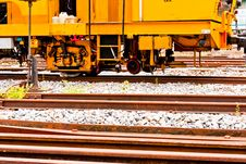 Old Train In Thailand Royalty Free Stock Photos