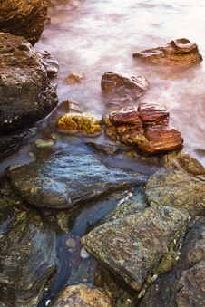 Nice Rock Place Stock Images