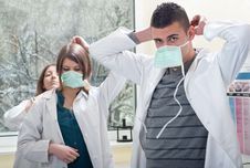 Free Prepare Medical Students Royalty Free Stock Photography - 20899557