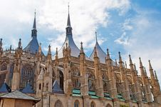 Free Cathedral In Kutna Hora Stock Image - 20899701
