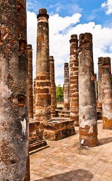 Free Sukhothai Historical Park Royalty Free Stock Images - 20899719