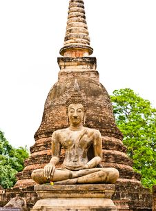 Free Sukhothai Historical Park Royalty Free Stock Photo - 20899865