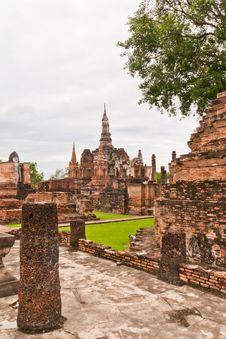 Free Sukhothai Historical Park Royalty Free Stock Images - 20899929