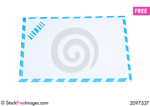 Free Air Mail Royalty Free Stock Photography - 2097537