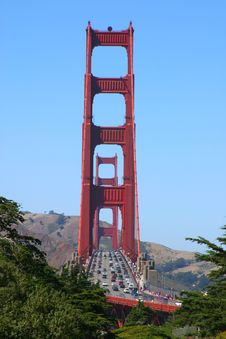 Free Golden Gate Bridge Stock Photography - 2090722