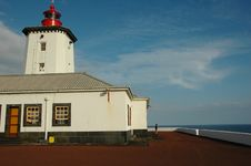 Free Lighthouse From The Island, Azores Royalty Free Stock Photos - 2090928