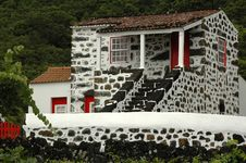 Free Old Azores Home Royalty Free Stock Image - 2091206