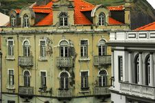 Free Old Homes In An Azores Village Royalty Free Stock Photography - 2091327
