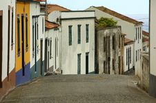 Free Old Homes In An Azores Village Royalty Free Stock Photo - 2091585