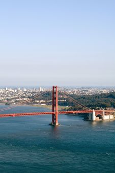 Free Golden Gate Bridge Royalty Free Stock Image - 2091886