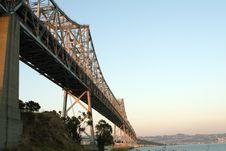 Free Bay Bridge Stock Image - 2091921