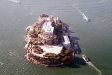 Free Aerial View Of Alcatraz Royalty Free Stock Images - 2092039