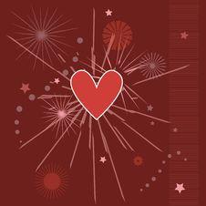 Free Heart Background Stock Photos - 2092433